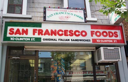 There are lots of San Francesco outlets. But only the tiny original converted house serves the proper recipe.