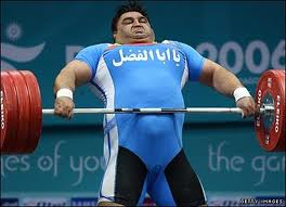 You don't have to be this guy to do olympic lifts