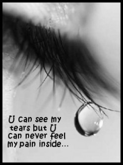 why..?? Love begins with a smile, grows with a kiss, and ends with a teardrop.