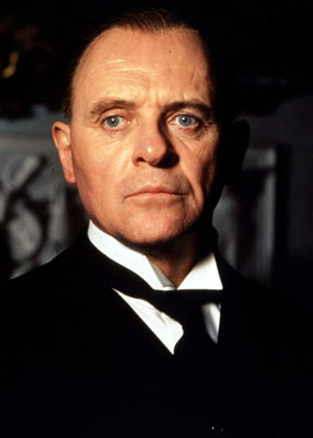 Mr. Stevens, as played by Anthony Hopkins