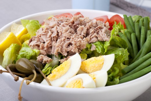 Nicoise salad - perfect for Spring. Image:  Charlotte Lake|Shutterstock.com