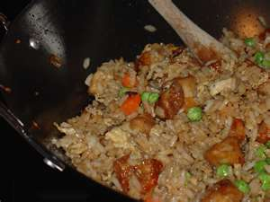 Just super simple cooking at its best Chicken Fried Rice you can make at home.