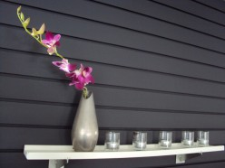 Black Accent Wall: Using Slatwall for Interior Design