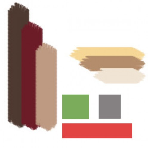Sample Color Board with Paint