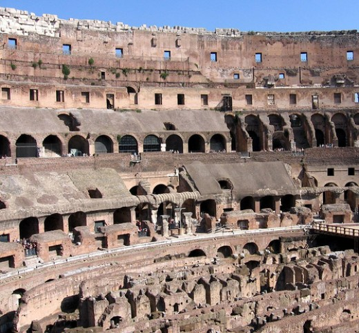 North Side of the Colosseum