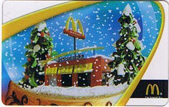 Mc Donalds Gift Card