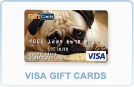 Visa Personalized Photo Card