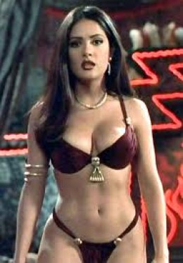 Salma Hayek in 'From Dusk Til Dawn'