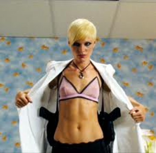 Kate Nauta as Lola in 'The Transporter 2'
