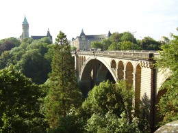 The Pont Adolphe, Luxembourg City