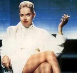 Sharon Stone as Catherine Tramell in 'Basic Instinct'