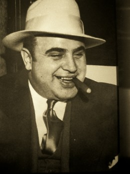 """I am like any other man.  All I do is supply a demand."" - Al Capone on bootlegging."