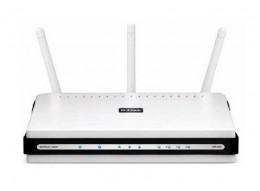 D-Link DIR-655 Extreme N Gigabit Wireless Router (Front)