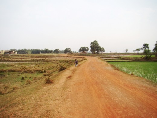 The road to Kherur