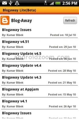 Blogaway Client