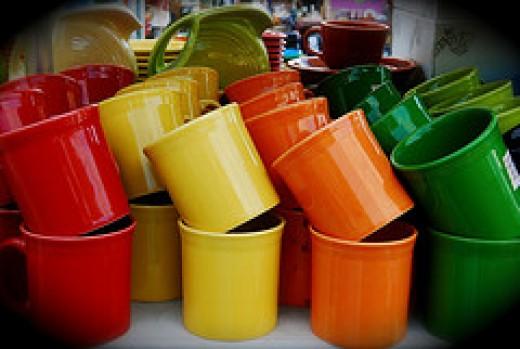 Fiestaware Tom & Jerry Mugs