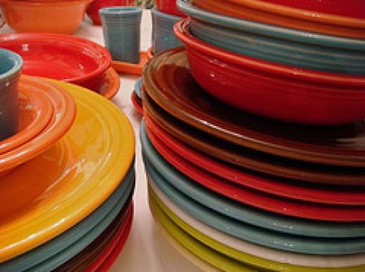 Dinner plates, Bowls