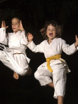Martial arts is FUN!