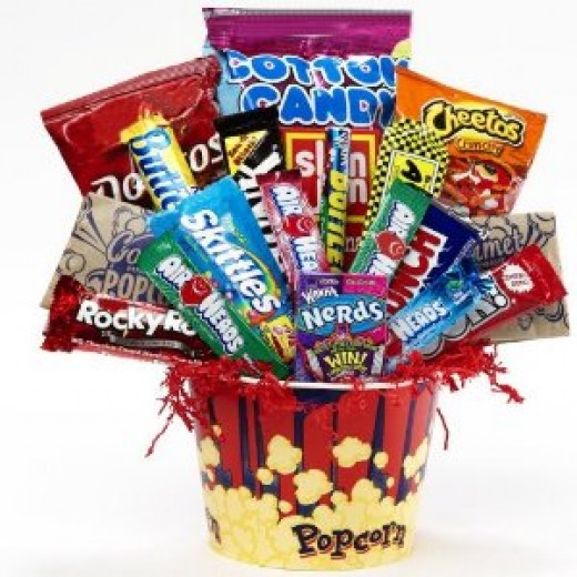 Candy Gift Basket for Kids