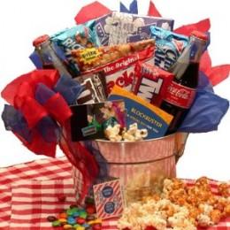Blockbuster Movie Gift Basket