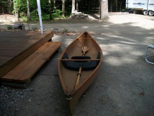 My Hornbeck Canoe