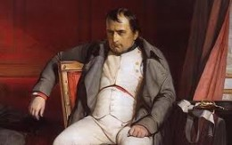 Bonaparte. What an evil looking creep he was.