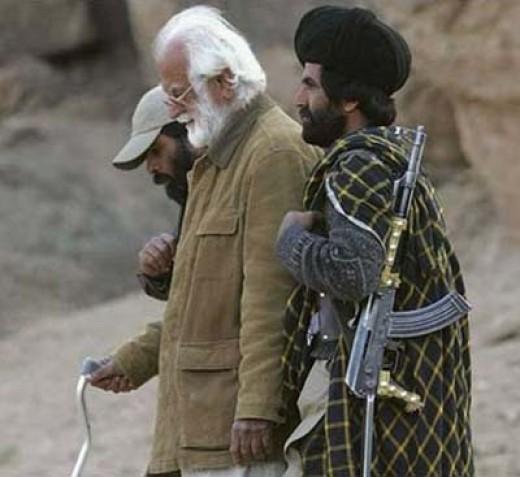 Nawab Akbar Bugti with his comrads