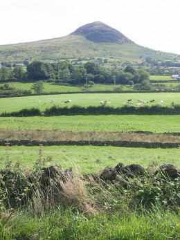 View of Slemish Mountain