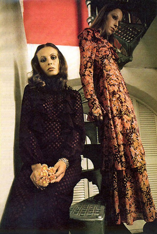 1970s Maxi Dresses - Serious Clothes for Serious Women?
