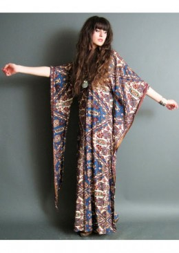 Lovely Kaftan Style, Loose Fitting Maxi Dress