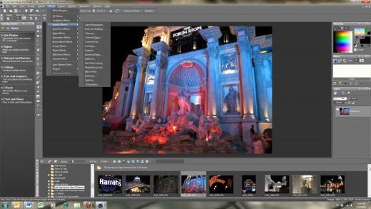Paint Shop Pro X2 Screen-shot
