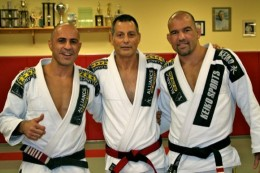 "The leader of the Brazilian Jiu-Jitsu team I train under, Team Alliance. Romero ""Jacare"" Cavalcanti (Center)"