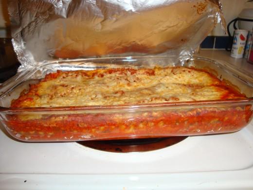Nannas Easy Hamburger Lasagna