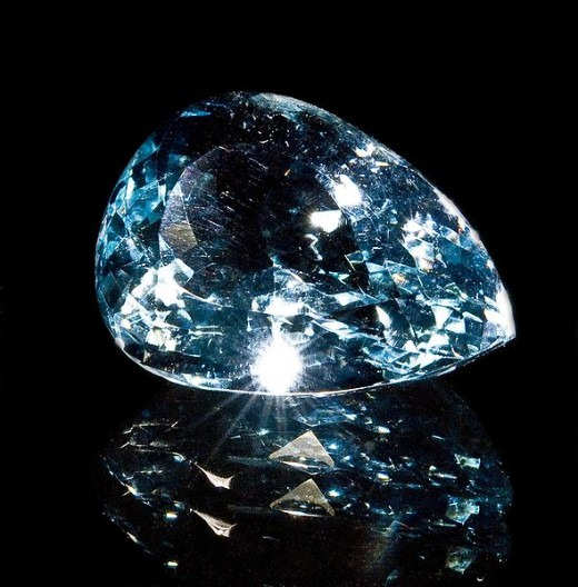 Blue topaz is considered the most valuable topaz for jewelry