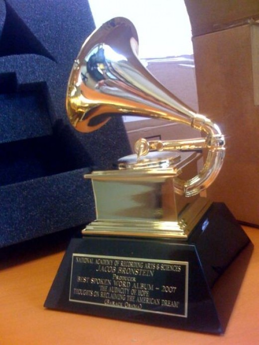 The Grammy Statue