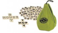 PAIRS IN PEARS - Bananagrams, Appletters, Pairs in Pears are FUN word games for kids BUT grown-ups love them too!