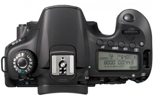 Canon EOS 60D top