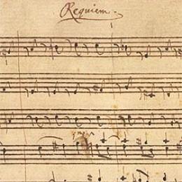 The original Requiem score.