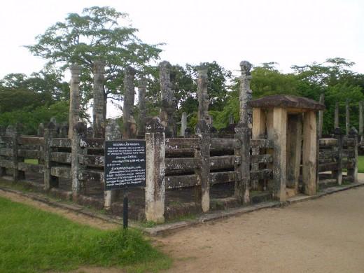 Nissanka Latha Mandapaya in Polonnaruwa