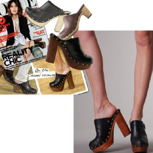 Trend on Clog - wear them with anything and everything!