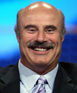 Would Dr. Phil be an effective therapist if he wasn't a TV personality?