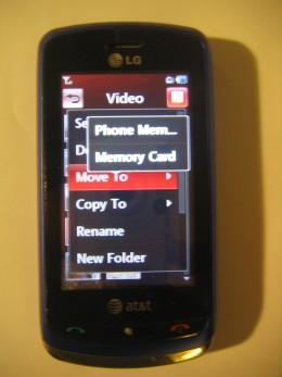 Select Memory Card