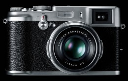 FinePix X100 (front)