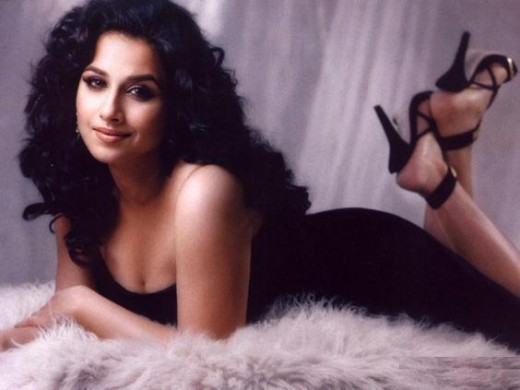 Vidya appeared in The Dirty Picture about the life and death of Indian sex siren Silk Smitha.