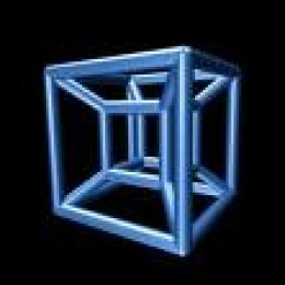 The Tesseract is a four dimensional cube.