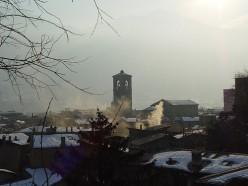 Winter view of Sondrio, Valtellina (Italy). Photo by Franco Folini (flickr)