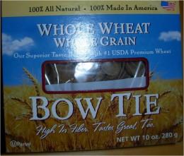 Step 2A - Close-up of Whole Wheat Whole Grain Pasta