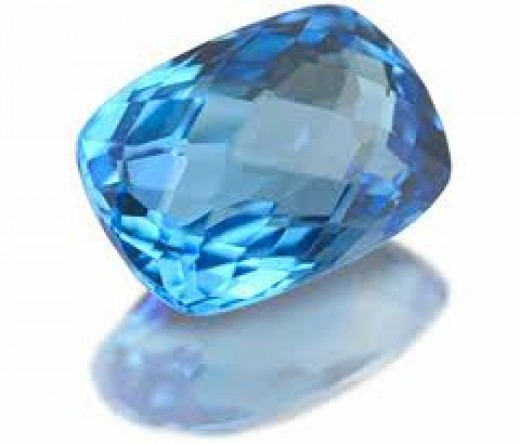 Blue Topaz is the most common December birthstone