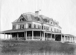 Clubhouse for the Seawanhaka Corinthian Yacht Club in Oyster Bay, Long Island NY in the 1890s.