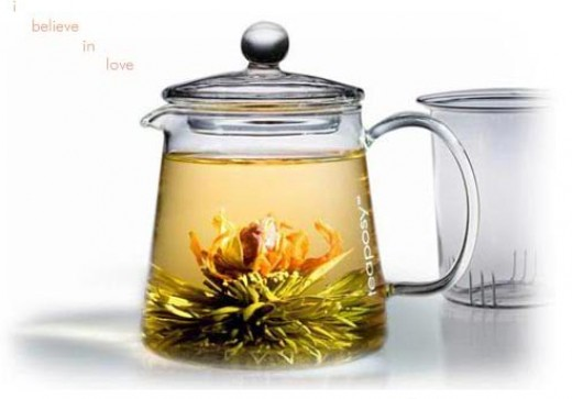 Teaposy L'amor Blooming Tea Romancing Gift Set